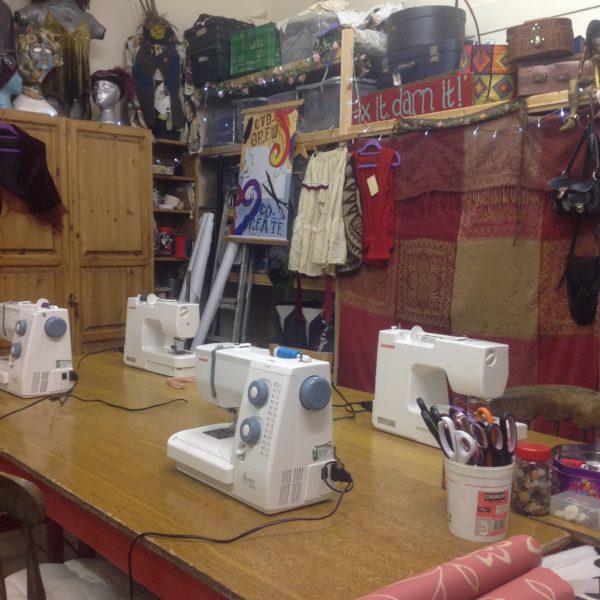 Wench Upcycled Clothing Workshops