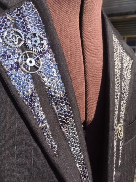 Mench Refashioned Steampunk Waistcoat